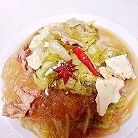 大白菜豆腐炖粉条(东北冬季下饭家常菜)的做法图解12