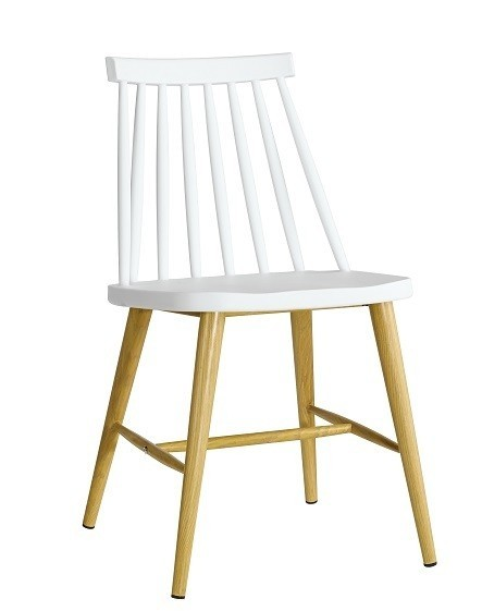 Chair CAMUS Metal White