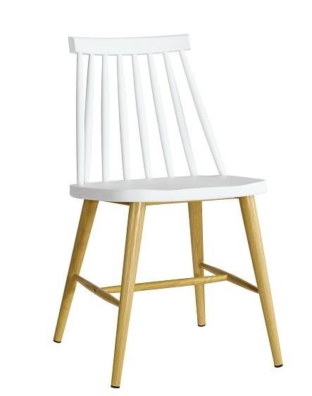 Chair CAMUS Metal White