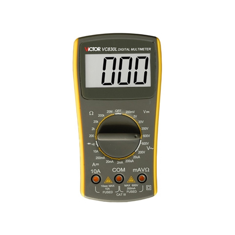Digital Multimeter VICTOR VC830L victor 77 digital process multimeter vc77