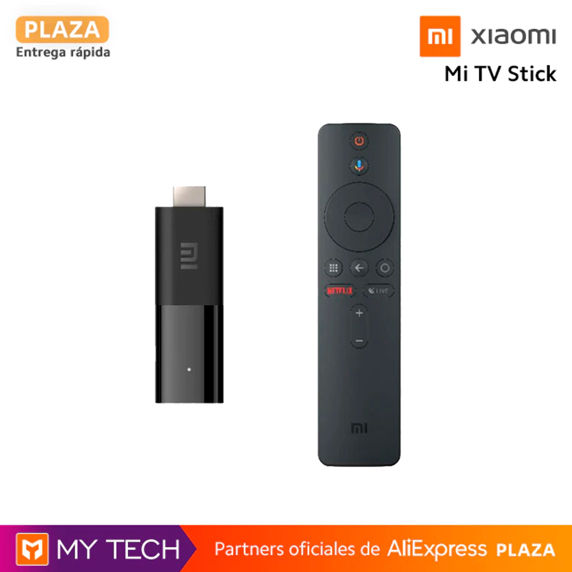 Xiaomi Mi TV Stick ORIGINAL, Chromecast, Android TV, Google Assistant and Smart Cast, global version, Plaza, Spain, Dolby and DTS|TV Stick|   - AliExpress