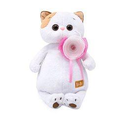 Soft toy Budi Basa Kitty Li-Of met bloem, 24 cm MTpromo