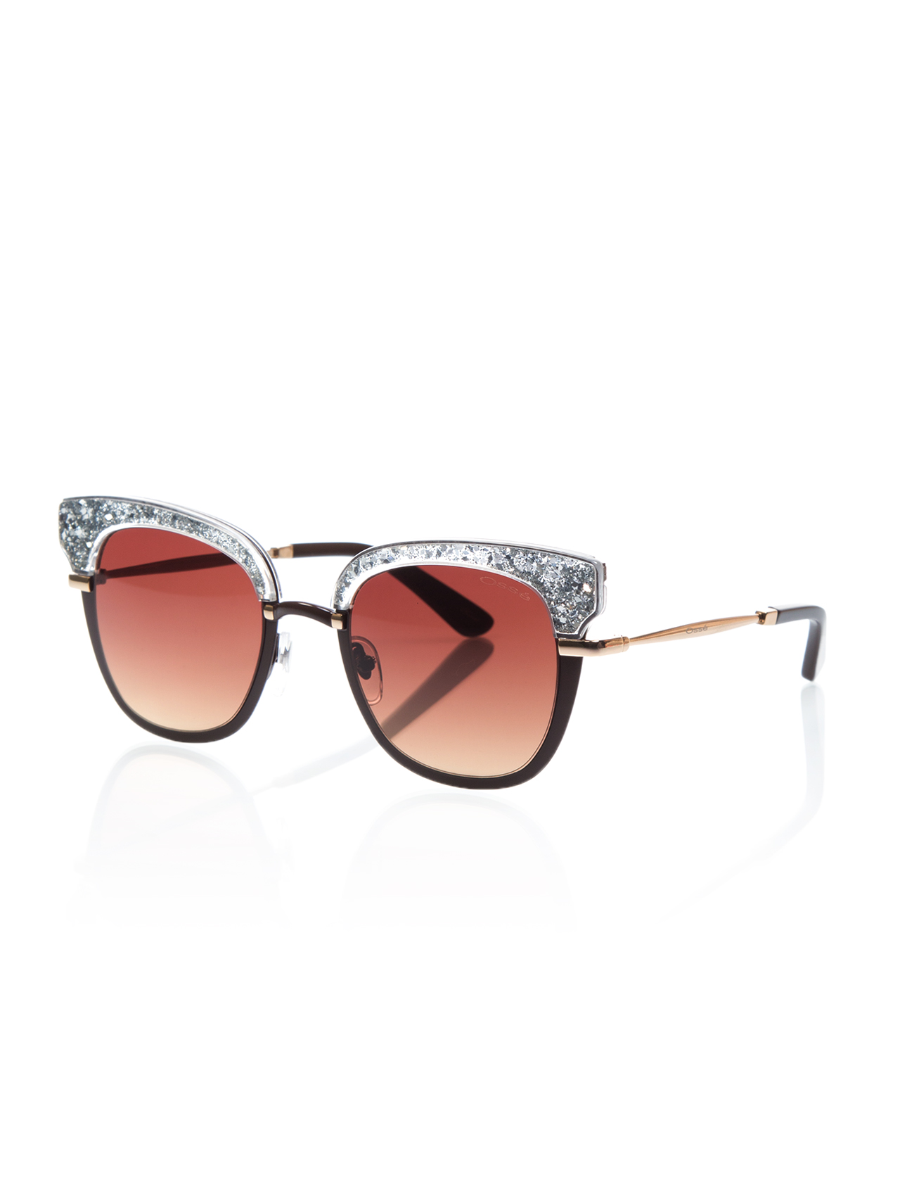 Women's sunglasses os 2575 04 metal Brown organic square square 51-22-140 osse