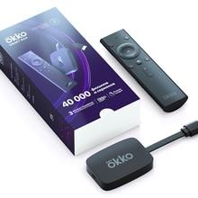 Смарт ТВ приставка Окко / медиаплеер Okko Smart Box 2020 черный Окко смарт бокс + подписка Окко Лайт на 3 месяца