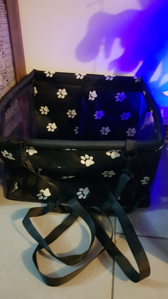 Dog Car Seat | Dog Car Carrier | Dog Booster Seat | Puppy Car Sea photo review