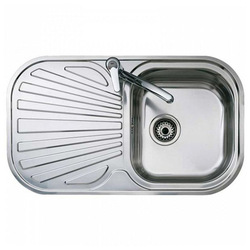 Sink with One Basin Teka STYLO 1C1E Stainless steel