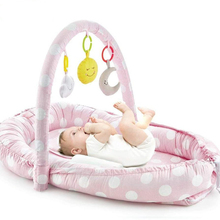 Mother & Father Side Bed with Toys Stylish, Beautiful and Convenient