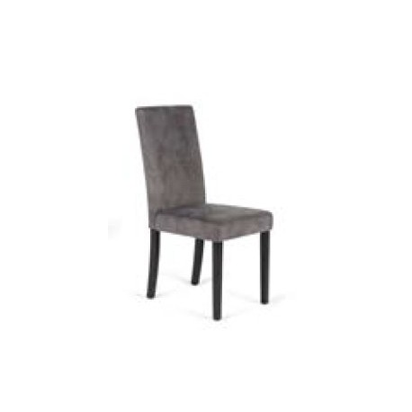 Pack Of 2 Chairs Ariadna Upholstered In Fabric Monet With Wooden Legs