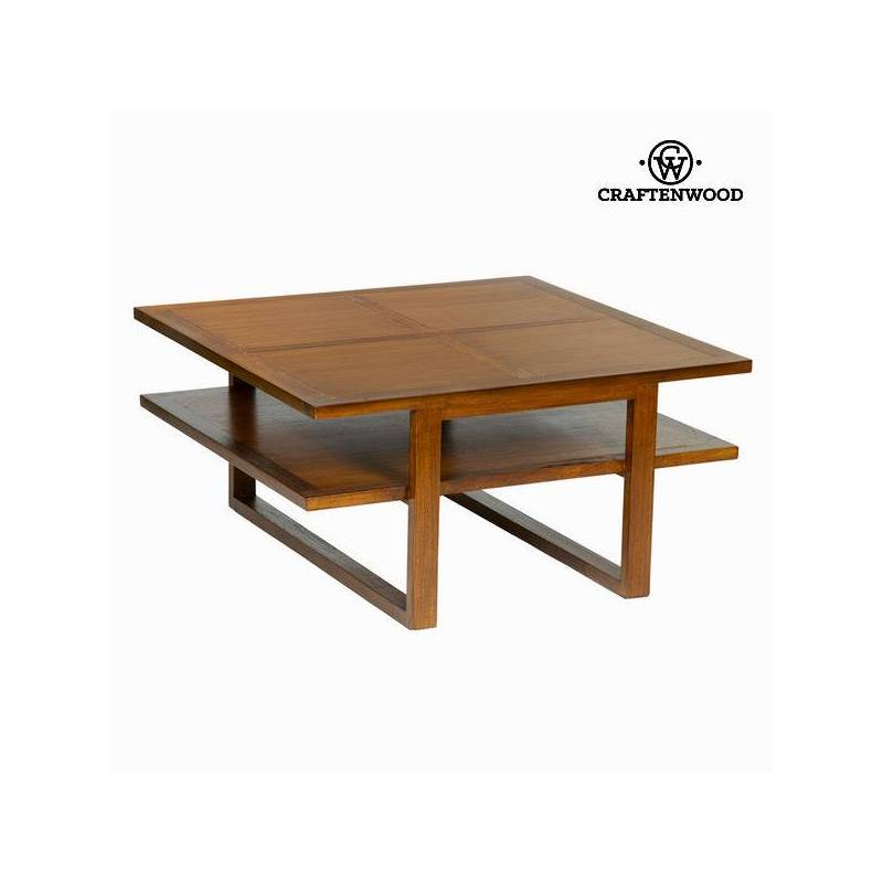 Coffee Table Craftenwood (90x90x45 Cm)-The Collection Chocolate