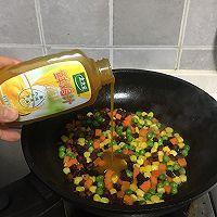 #太太乐鲜鸡汁芝麻香油#腊肠糯米烧卖的做法图解6