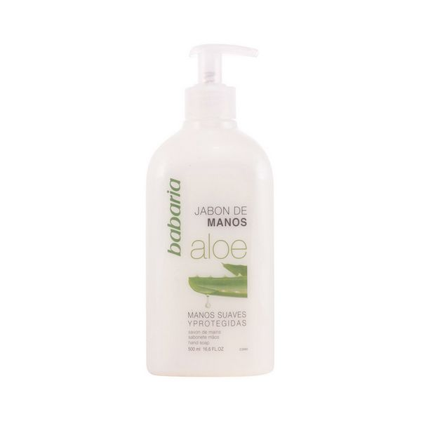 Liquid Aloe Vera Hand Soap Babaria (500 Ml)