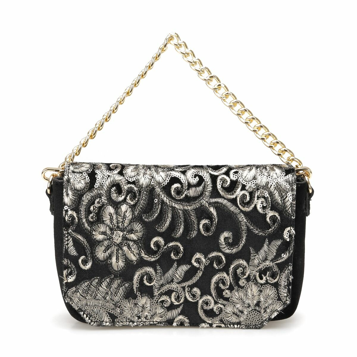 FLO PR18AW011 Black Women Messenger Bag BUTIGO