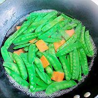 荷兰豆炒虾仁 #福气年夜菜#的做法图解7
