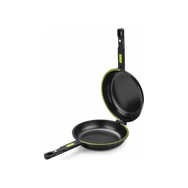Omelette Pan BRA A121466 Ø 20 Cm Black