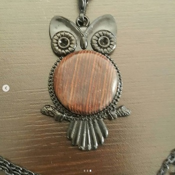owl shaped necklaces capture the beauty of fine craftsmanship of the artist from the Orient and Middle East