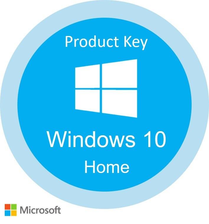 Windows 10 Home Key  OEM 32/64 Bit Product Key (lifetime) Microsoft
