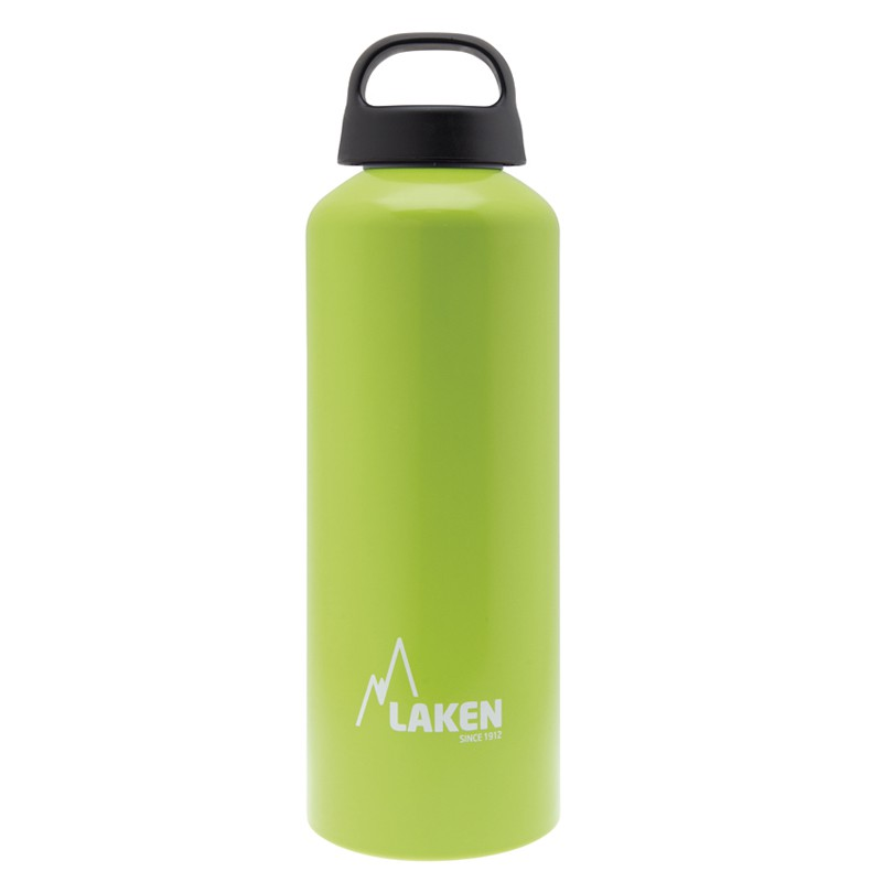 LAKEN's Water Bottle Aluminum Classic 0,75 L. Applegreen