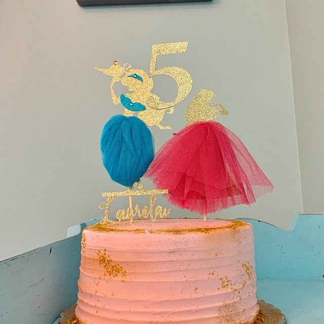 Cool Custom Jasmine Birthday Cake Topper Aladdins Jasmine Cake Topper Personalised Birthday Cards Arneslily Jamesorg