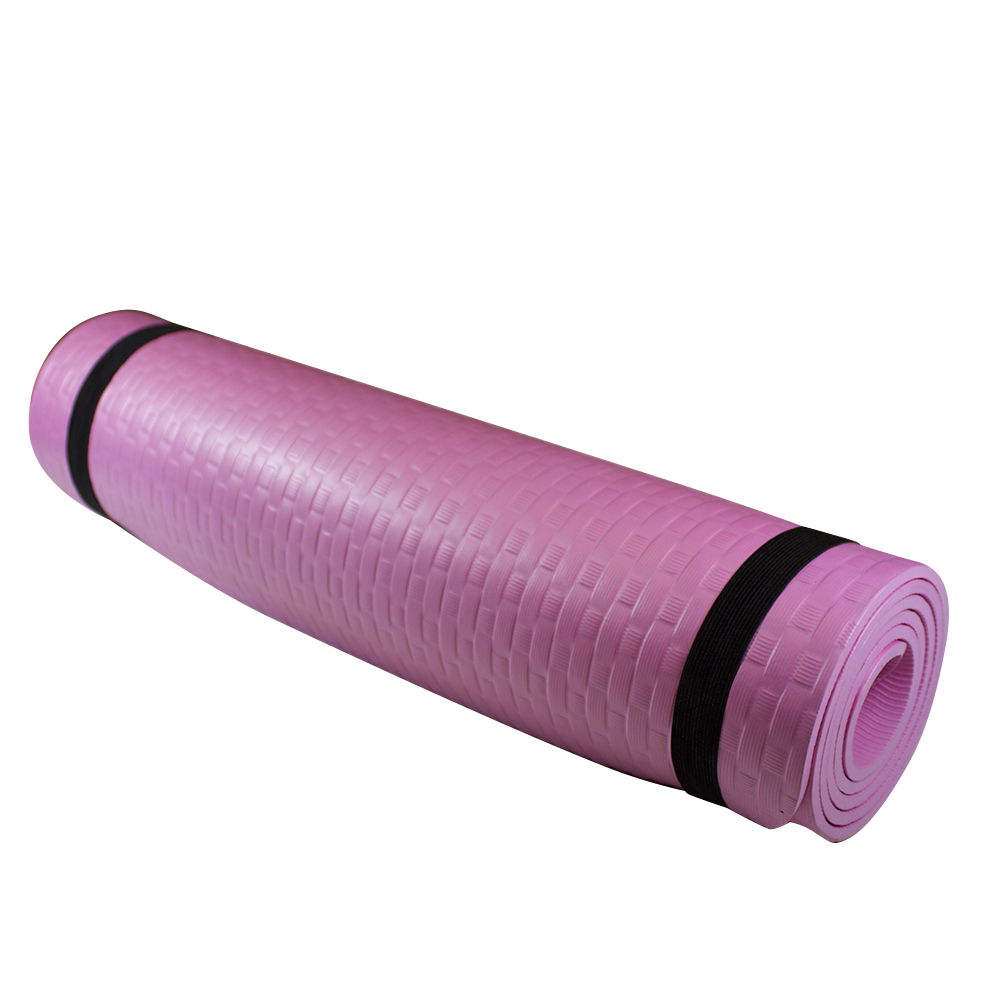 Yoga Mat Thick Anti-Slip Yoga Mat Thickness 8mm Pilates Mat Sport Mat with Shoulder Strap
