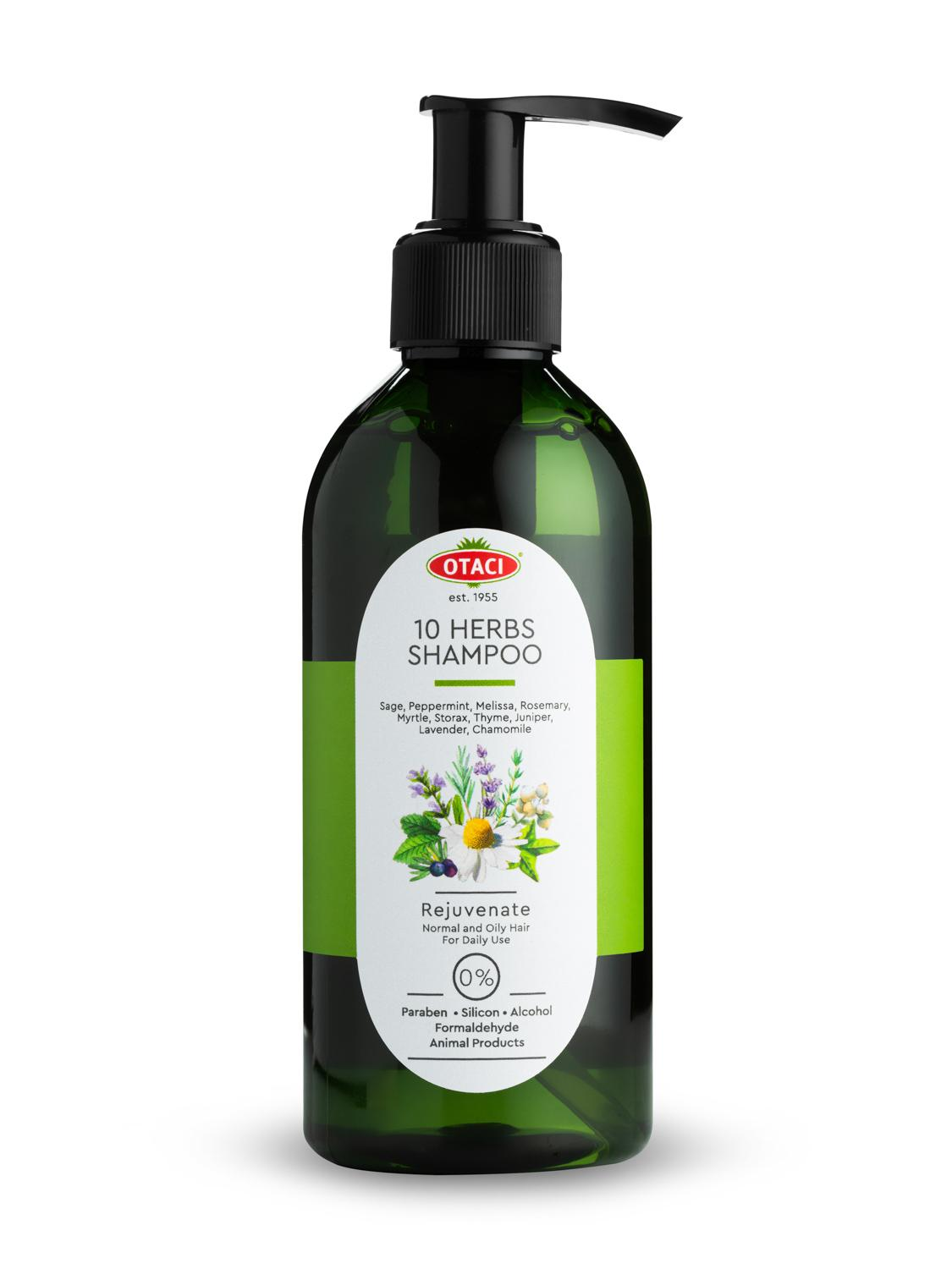 Otaci/ herbal shampoo with 10 herbs. Bouquet oil lavender, sage, mint, rosemary, мирты, Daisy.