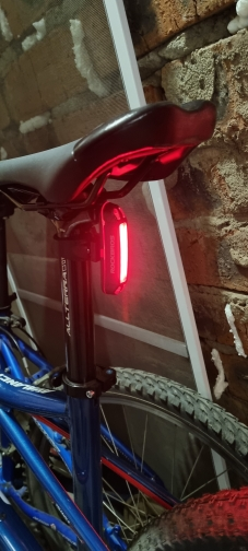 Rechargeable Waterproof Bicycle Headlight photo review