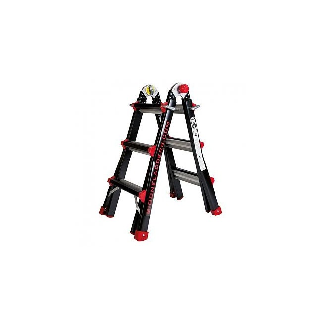 Telescopic Ladder Folding BigOne 4x3 IBERANDAMIOS