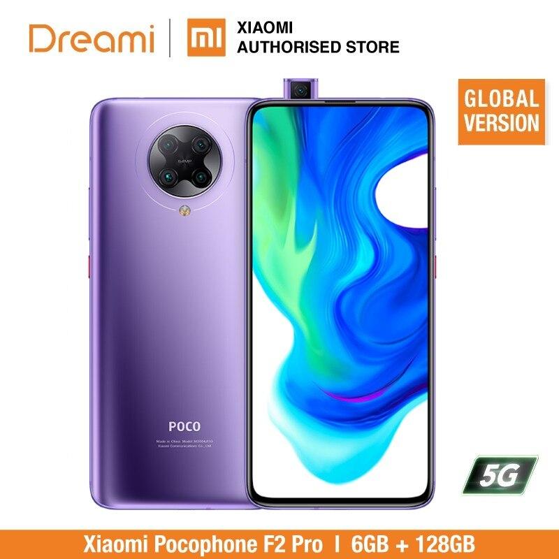 Global Version Xiaomi Pocophone F2 Pro 6GB RAM 128GB ROM (Brand New / Sealed) Poco, Pocof2, Pocof2pro, 128, Telephone Mobile, 5G