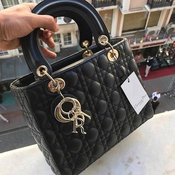 Torebki damskie luksusowy projektant marki Dior torebki torby na ramię wysokiej jakości torebki damskie torebki Bolsa Feminina tanie i dobre opinie Bagietka TR (pochodzenie)