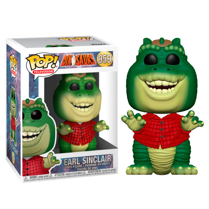 POP Figure Dinosaurs Earl Sinclair