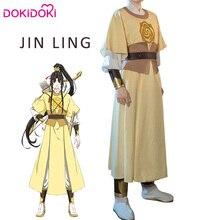 DokiDoki Anime Cosplay Mo Dao Zu Shi Jin Ling Costume Men Halloween