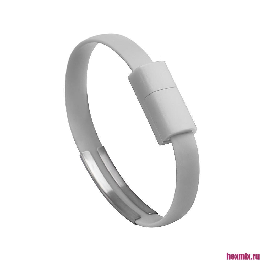Bracelet USB-micro USB Cable (color-Gray)