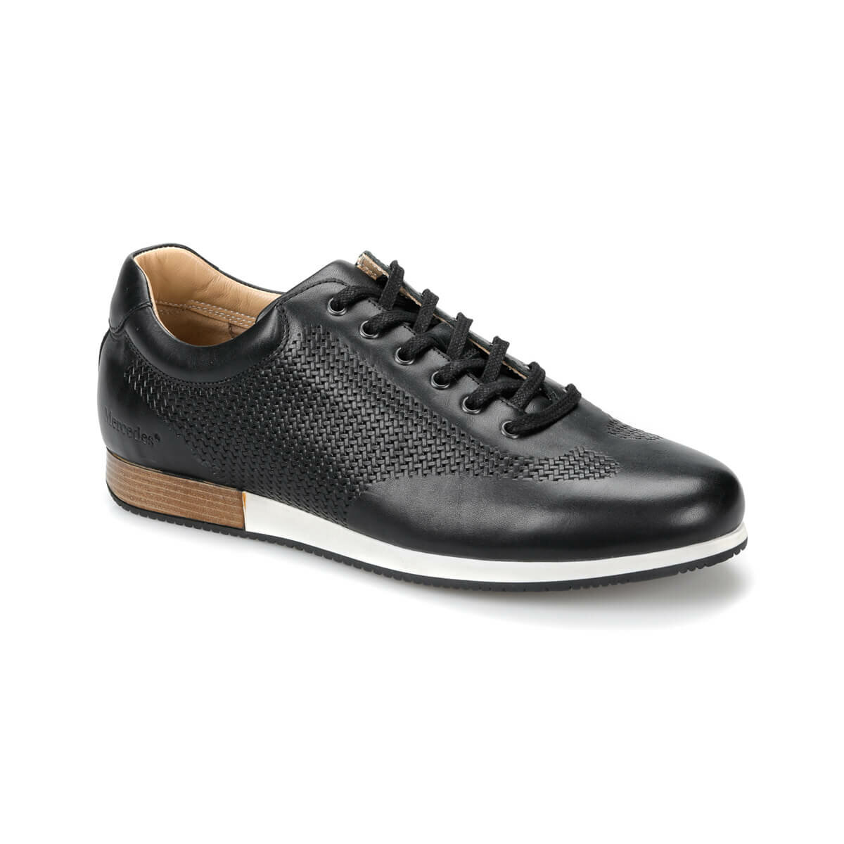 FLO GRANADA Black Men Dress Shoes MERCEDES