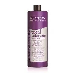 Shampooing pour cheveux colorés soin Total des couleurs Revlon (1000 ml)
