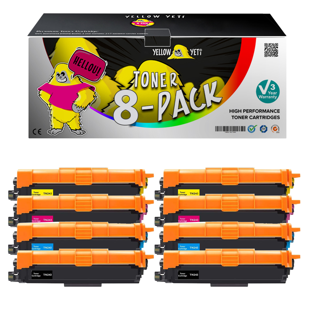 Compatible Toner Cartridge TN 243 TN 243 For Brother HL-L3210CW L3230DW L3270DW MFC-L3710CW 3730CDN L3750CDW L3770 DCP-L3510CDW
