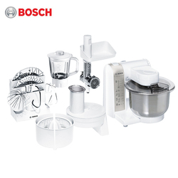 آلة المطبخ Bosch MUM4856 منتج أغذية خلاط دوار الغذاء مع وعاء العجين