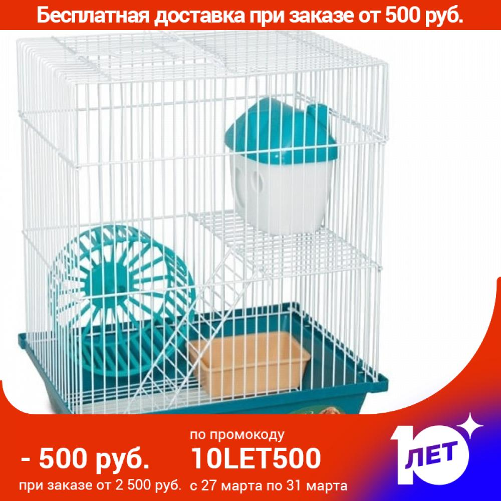 Cage Triol 2103K For Rodents, 300x230x390mm