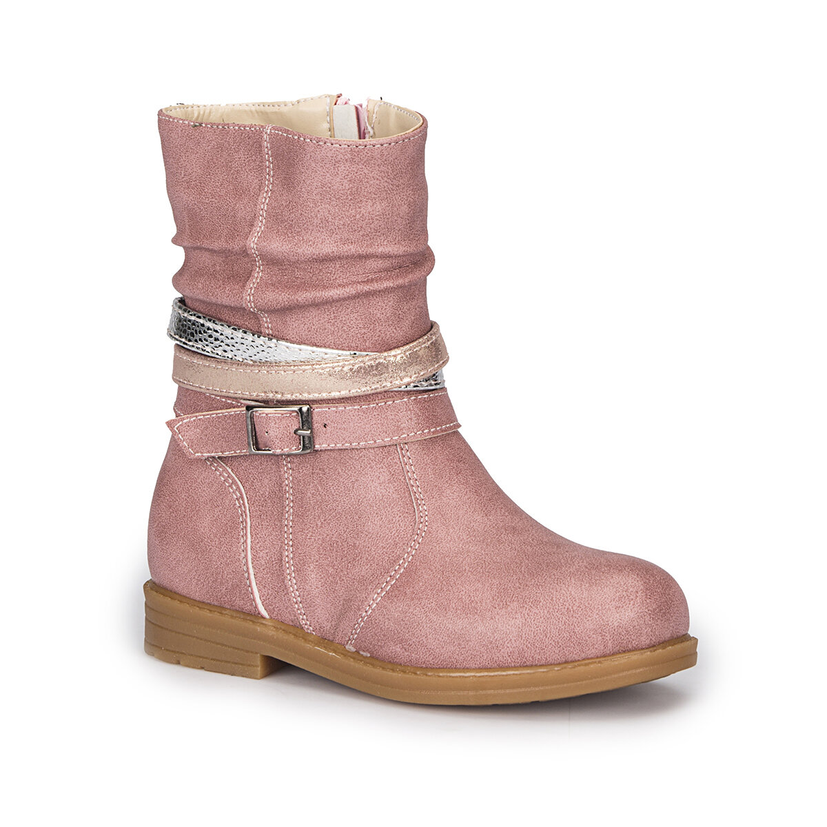 FLO SOULY-1 Pink Female Child Boots PINKSTEP