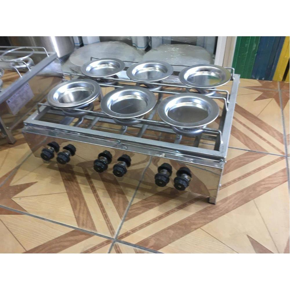 FOR 6 PERSONS Kunafa Konafa Kanafeh Kunafah Kunefe Stove For Cooking Quarry 6 PLATE INCLUDED Works With PROPANE GAS ( LPG )