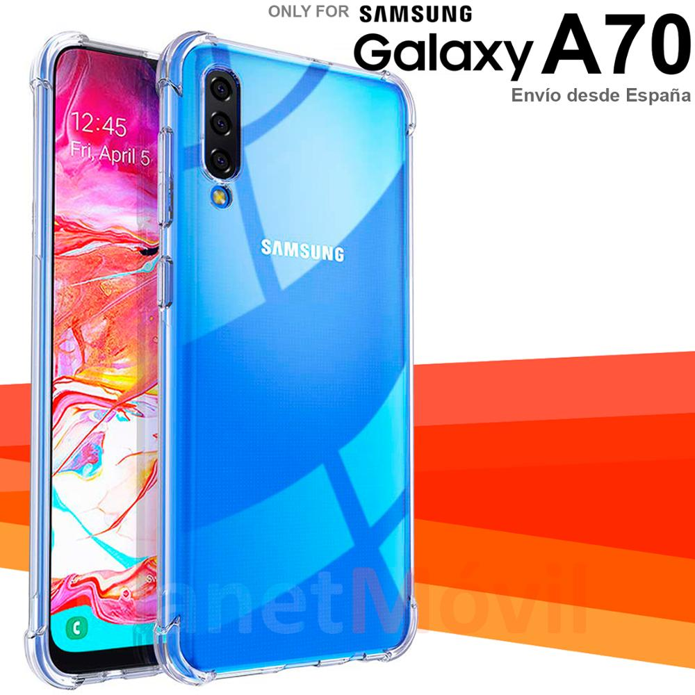 Stand Case Shock With Corners Reinforced Compatible With Samsung Galaxy A70 100 Transparent Anti Shock Phone Case Covers Aliexpress