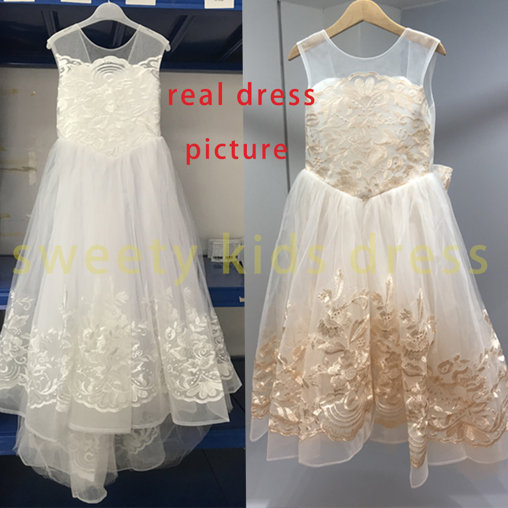 2021 Teen Girls Dresses for Party Wedding Ball Gown Princess Bridesmaid Costume Dresses for Kids Clothes Girl Children's Dresses 6