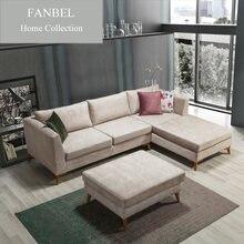 Мебель для гостиной fanbel роскошный диван с деревянной рамой
