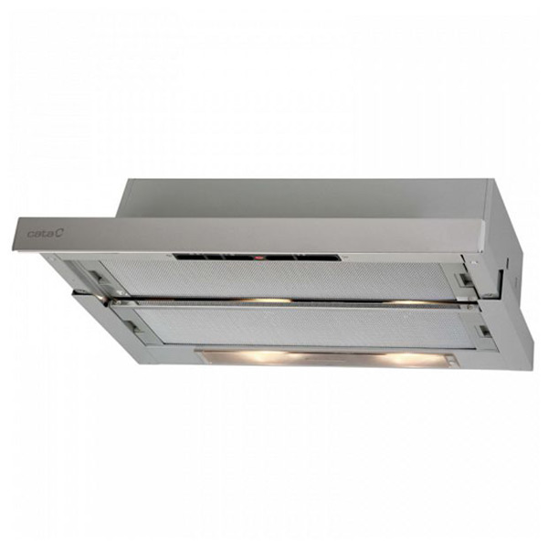 Conventional Hood Cata TF5260X 60 Cm 310 M3/h 65 DB 180W Stainless Steel