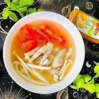 #太太乐鲜鸡汁芝麻香油#番茄鸡瓜汤的做法图解8