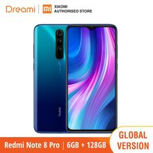 Xiaomi – Smartphone, Redmi Note 8 PRO, RAM 6 go, ROM 128 go, téléphone intelligent, terminal Mobile, note8pro, Version internationale