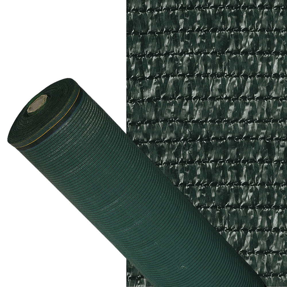 Papillon Mesh Shading 90%, Roll 100 Meters, Reduced Radiation, Protection Garden And Terrace, Regulates Temperature, Color Green Osc