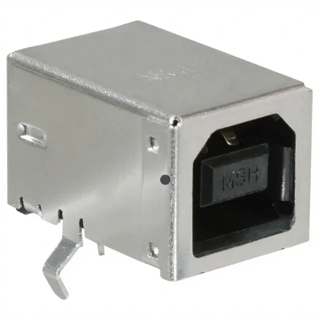 67068-8000 - 0670688000 - USB - B USB 2.0 Receptacle Connector 4 Position Through Hole, Right Angle