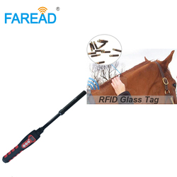 ISO11784/5,ISO14223,FDX-A,FDX-B,HDX USB Bluetooth RFID waterproof handheld stick reader microchip scanner for Animal pet chip