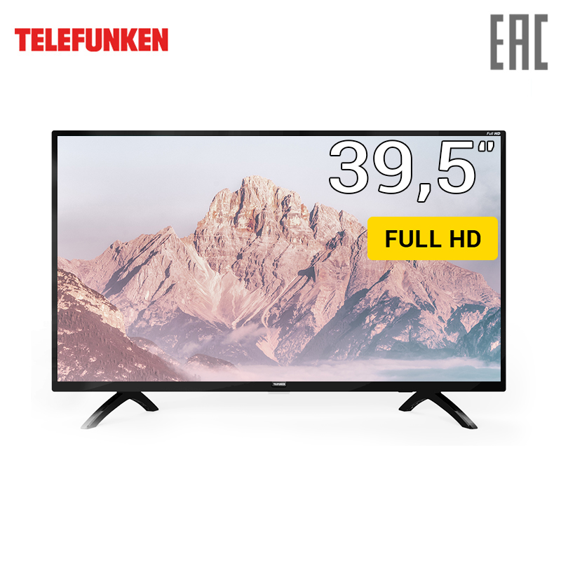 TV 40 Telefunken TF-LED40S01T2 FullHD 4049inchTV dvb dvb-t dvb-t2 digital