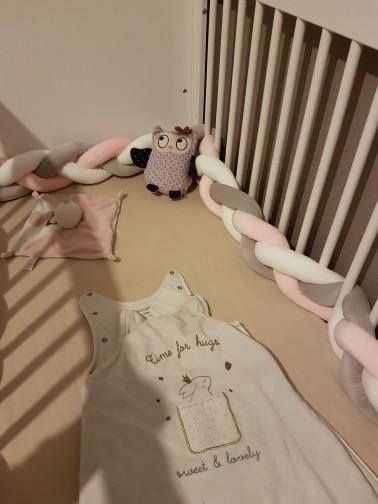 Baby's Braid Knot Crib Bumper photo review