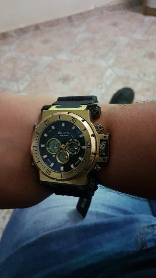 -- Stryve Dwaterproof Relógio